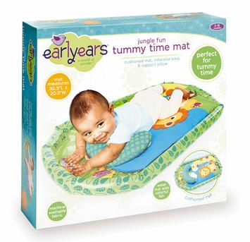 Jungle Fun Tummy Time Mat picture
