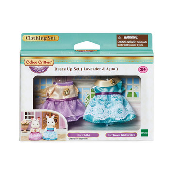 Dress Up Set (Lavendar and Aqua) picture