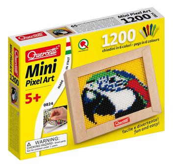 Mini Macaw Pixel Art picture