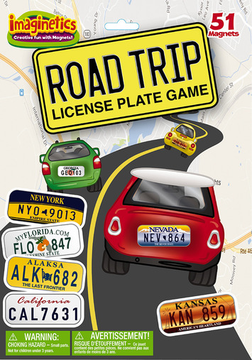 Road Trip License Plate Game picture