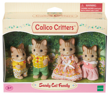 Sandy Cat Family picture