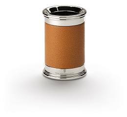 Pen holder Epsom, cognac picture