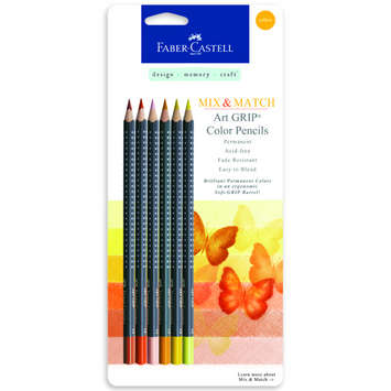 Art GRIP Color Pencils: YELLOW picture