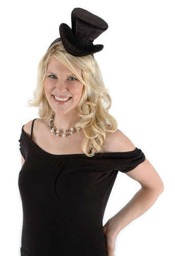 cocktail top hat black picture