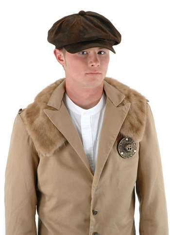 Steampunk Driver Brown Suede picture