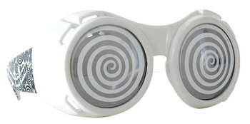 hypno goggles white with smoke picture