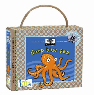 green start book + puzzle sets: deep blue sea picture