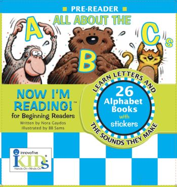 Now I'm Reading: All About The ABCs picture