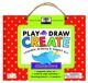 green start play, draw create: dinosaurs