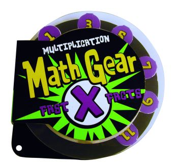 Math Gear: Fast Multiplication Facts picture