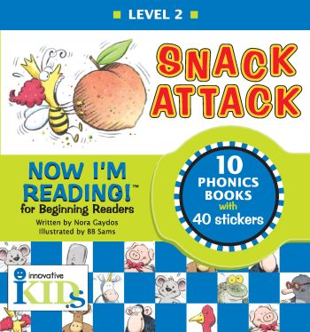Now I'm Reading: Snack Attack (Binder with 10 booklets)