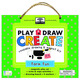 green start play, draw, create: Farm Fun