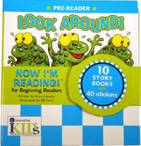 Now I'm Reading: Look Around! (Binder with 10 booklets)