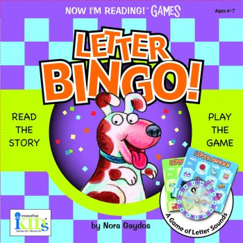 Now I'm Reading GAMES: Letter Bingo! picture