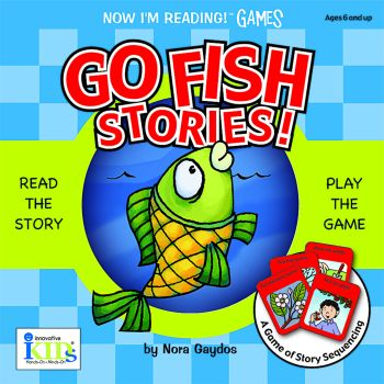 Now I'm Reading GAMES: Go Fish Stories! picture