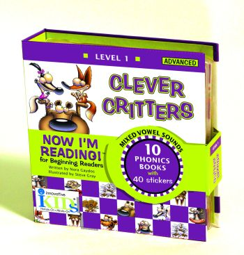 Now I'm Reading: Clever Critters (Binder with 10 booklets)