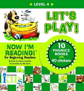 Now I'm Reading: Let's Play! (Binder with 10 booklets) picture