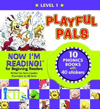 Now I'm Reading: Playful Pals (Binder with 10 booklets) picture