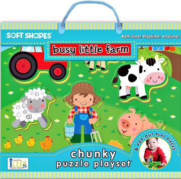 Soft Shapes Chunky Puzzle Playsets: Busy Little Farm picture