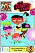 Phonics Comics: Level 2: The Fearless Four