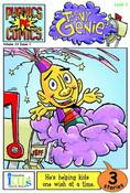 Phonics Comics:  Level 1: Teeny Genie