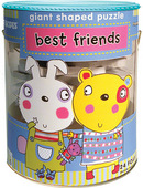 Soft Shapes Giant Shaped Puzzle: best friends