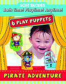 Soft Shapes Play Puppets: Pirate Adventure
