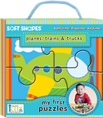 Soft Shapes My First Puzzles: Planes, Trains & Trucks