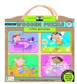 green start wooden puzzles: little princess