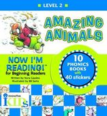 Now I'm Reading: Amazing Animals (Binder with 10 booklets)