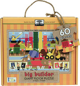 green start giant floor puzzle big builder