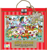 green start giant floor puzzle silly circus