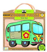 green start  wooden puzzles: love bus