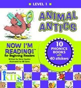 Now I'm Reading: Animal Antics (Binder with 10 booklets)