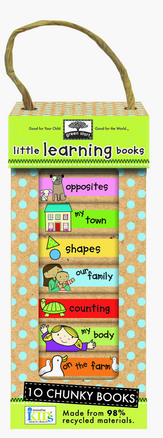 green start book towers: little learning books picture