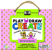 green start play, draw, create: princesses