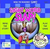 Now I'm Reading! GAMES: Sight Word Slap!