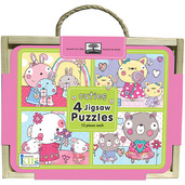 green start jigsaw puzzle box set cuties