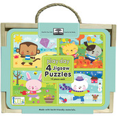green start jigsaw puzzle box set playday