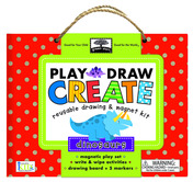 green start play, draw create: dinosaurs