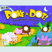 Poke-A-Dot!: Goodnight, Animals