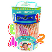 Soft Shape Tub Stickables: Numbers