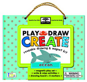 green start play, draw, create: ocean