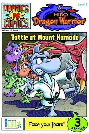 Phonics Comics: Level 2: Hiro: Dragon Warrior: Battle at Mount Kamado picture