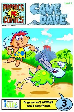 Phonics Comics: Level 1: Cave Dave picture