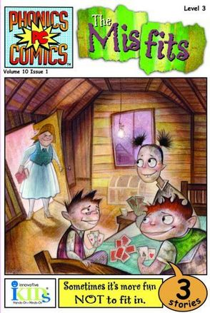 Phonics Comics: Level 3: The Misfits picture