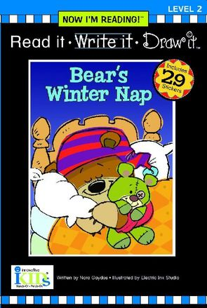 Now I'm Reading!™: Read it • Write it • Draw it!: Bear's Winter picture