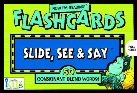Now I&#8217;m Reading!&#8482; Flashcards: Consonant Blend Words picture