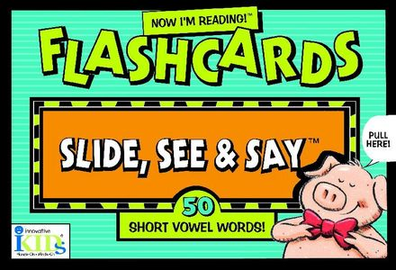 Now I'm Reading! Flashcards: Short Vowel Words picture
