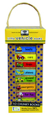 green start book tower: little vehicle books